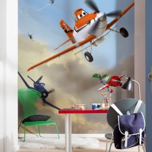 4-452 - Planes Dusty & Friends Room Set