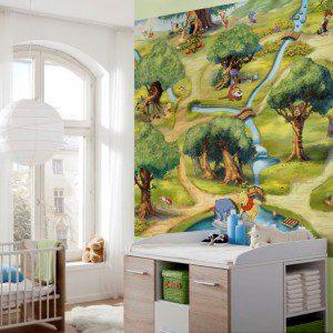 4-453 - Winnie Hundred Acre Wood Room Set
