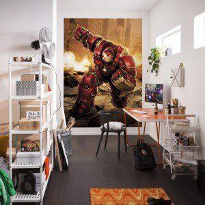 4-457 - Avengers Hulk Buster Room Set