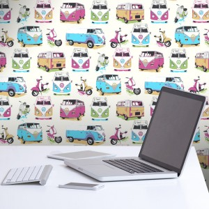 muriva_vw_camper_vans_scooters_multi_wallpaper_j05901_room_1