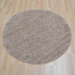 ultima shaggy beige circle