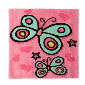 0011945_KIDDY PLAY BUTTERFLY PINK 90X90_600