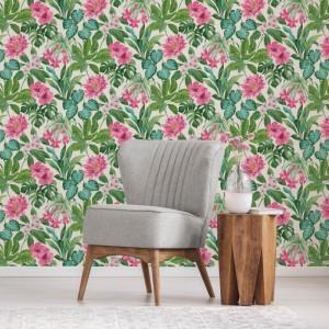 fd42474fine_decor_tropica_rainforest_floral_pink_multi_wallpaper_-_fd42474_room